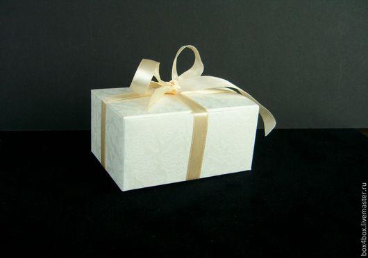 Упаковка ручной работы. Ярмарка Мастеров - ручная работа. Купить Коробочка. Handmade. Белый, упаковка, упаковка для подарка, упаковка для мыла