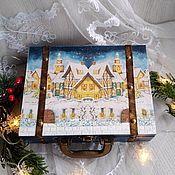 Для дома и интерьера handmade. Livemaster - original item Suitcase-box