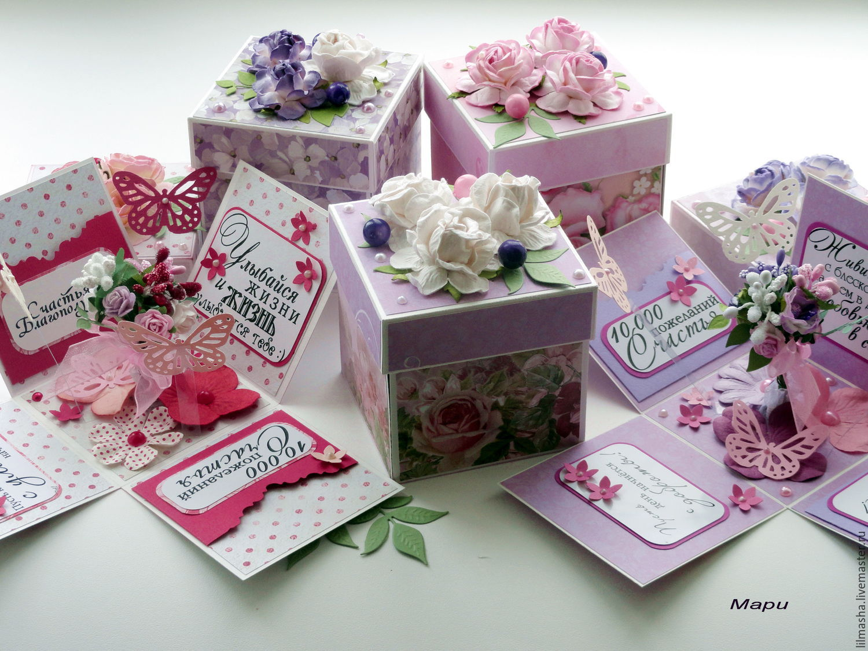 Подарки в коробочках своими руками картинки