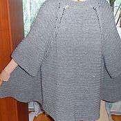 Одежда handmade. Livemaster - original item cardigan in grey tones. Handmade.