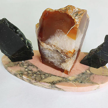 Сувениры и подарки ручной работы. Ярмарка Мастеров - ручная работа 192. Серпофит (благородный серпентинит). Handmade.