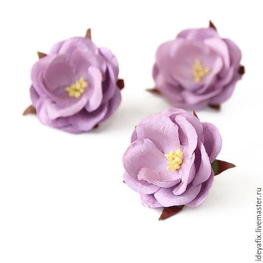 Диаметр цветочка 4 см.  Высота 1,5 см. Цена указана за 1 цветок.