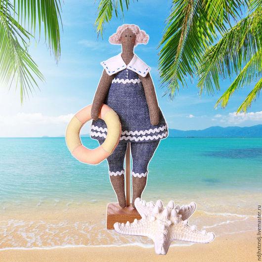 Куклы Тильды ручной работы. Ярмарка Мастеров - ручная работа. Купить Морячка Соня. Handmade. Тильда, море, кукла текстильная