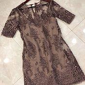 Платье из кружева 2в1