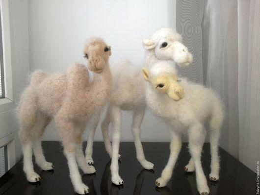 Игрушки животные, ручной работы. Ярмарка Мастеров - ручная работа. Купить Дух верблюда – талисман удачи у вас дома - верблюжата (ПРОДАНЫ). Handmade.