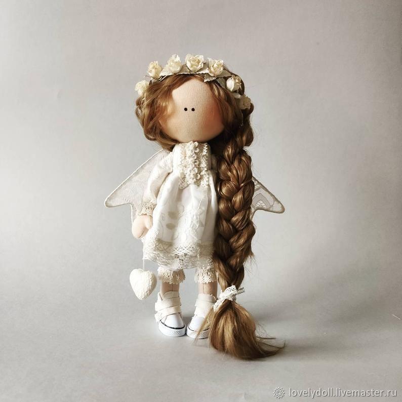 Dolls and dolls: Angel with a Scythe Textile Doll Handmade, Dolls, Kiev,  Фото №1