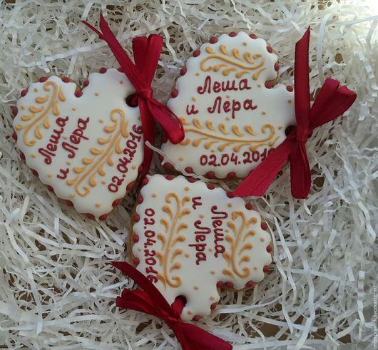 Кулинарные сувениры ручной работы. Ярмарка Мастеров - ручная работа. Купить Пряники Комплименты для гостей Марсала. Handmade. Имбирные пряники
