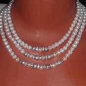 Украшения handmade. Livemaster - original item Necklace of natural pearls. Handmade.