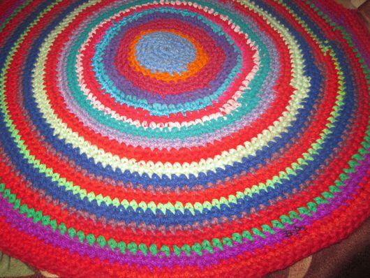 Текстиль, ковры ручной работы. Ярмарка Мастеров - ручная работа. Купить Коврик. Handmade. Разноцветный, коврик ручной работы