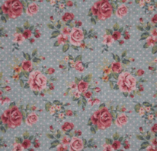 Шитье ручной работы. Ярмарка Мастеров - ручная работа. Купить Ткань хлопок для пэчворка ( прованс, шебби). Handmade. Розы
