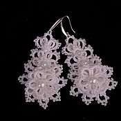 Украшения handmade. Livemaster - original item Earrings Bridal