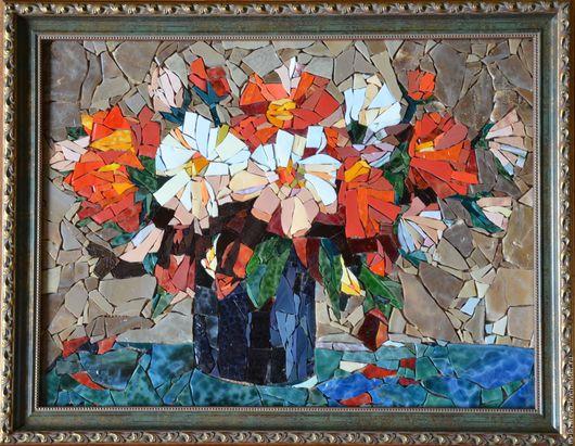 Картины цветов ручной работы. Ярмарка Мастеров - ручная работа. Купить Цветы. Handmade. Комбинированный, цветы, картина с цветами