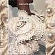 """Болеро, шраг ручной работы. Ярмарка Мастеров - ручная работа. Купить Объёмное болеро """"Versailles"""" от Olga Lace. Handmade. Бежевый"""