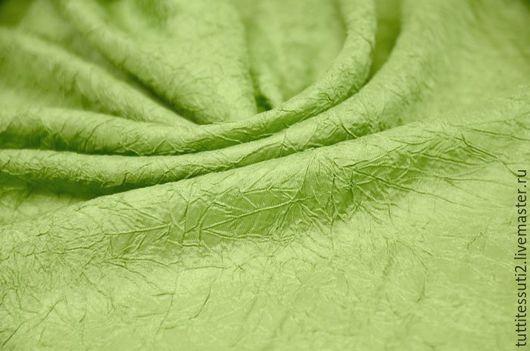 Шитье ручной работы. Ярмарка Мастеров - ручная работа. Купить Подкладочная ткань 11-300-0097. Handmade. Зеленый, ацетет