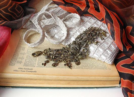 браслет Кошки Бронзового Века пышный браслет, ollika handmade, ollika ольга дмитриева,