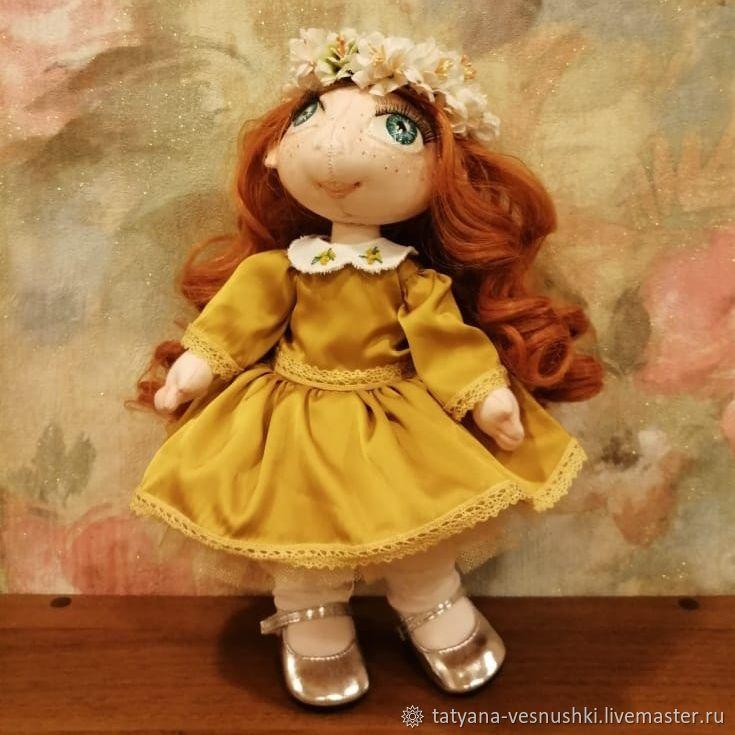 Веснушка очаровашка, Портретная кукла, Подольск,  Фото №1
