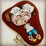 """Сувениры и подарки ручной работы. Ярмарка Мастеров - ручная работа Пряники """"Кокетка 2"""" архангельские расписные козули. Handmade."""