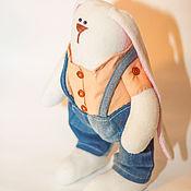 Куклы и игрушки ручной работы. Ярмарка Мастеров - ручная работа Зайка Крош. Handmade.