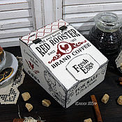 """Для дома и интерьера ручной работы. Ярмарка Мастеров - ручная работа """"Red rooster"""" короб. Handmade."""