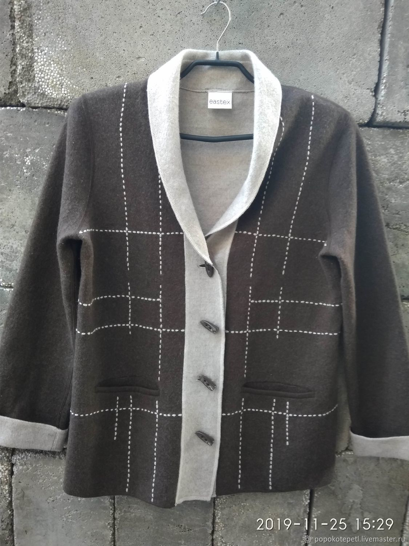 cardigan, Merino wool, Britain, Vintage clothing, Novorossiysk,  Фото №1