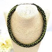 Украшения handmade. Livemaster - original item Choker harness Zukhra Japanese beads. Handmade.