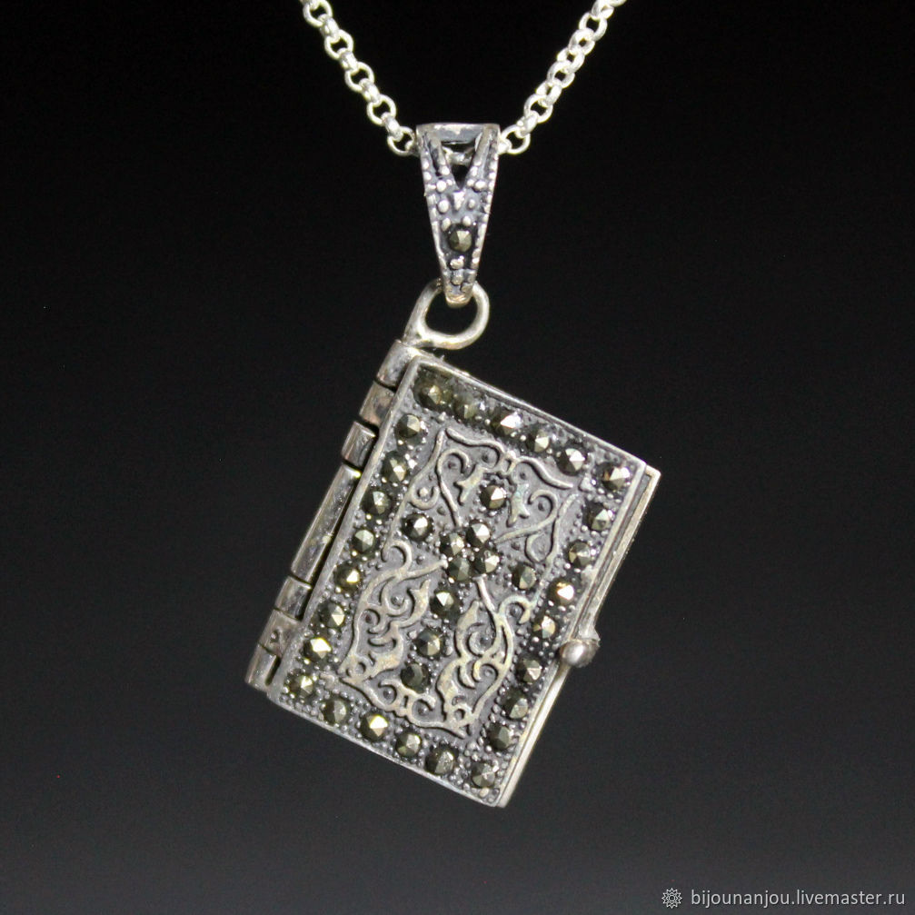 Prayer book pendant made of 925 silver our father, Pendants, Yerevan,  Фото №1