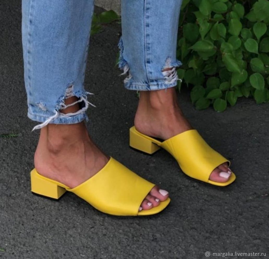 Обувь ручной работы. Ярмарка Мастеров - ручная работа. Купить Сабо 'sun'). Handmade. Обувь ручной работы, обувь на заказ