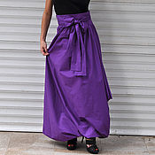 Одежда handmade. Livemaster - original item Bright, long skirt in the style of