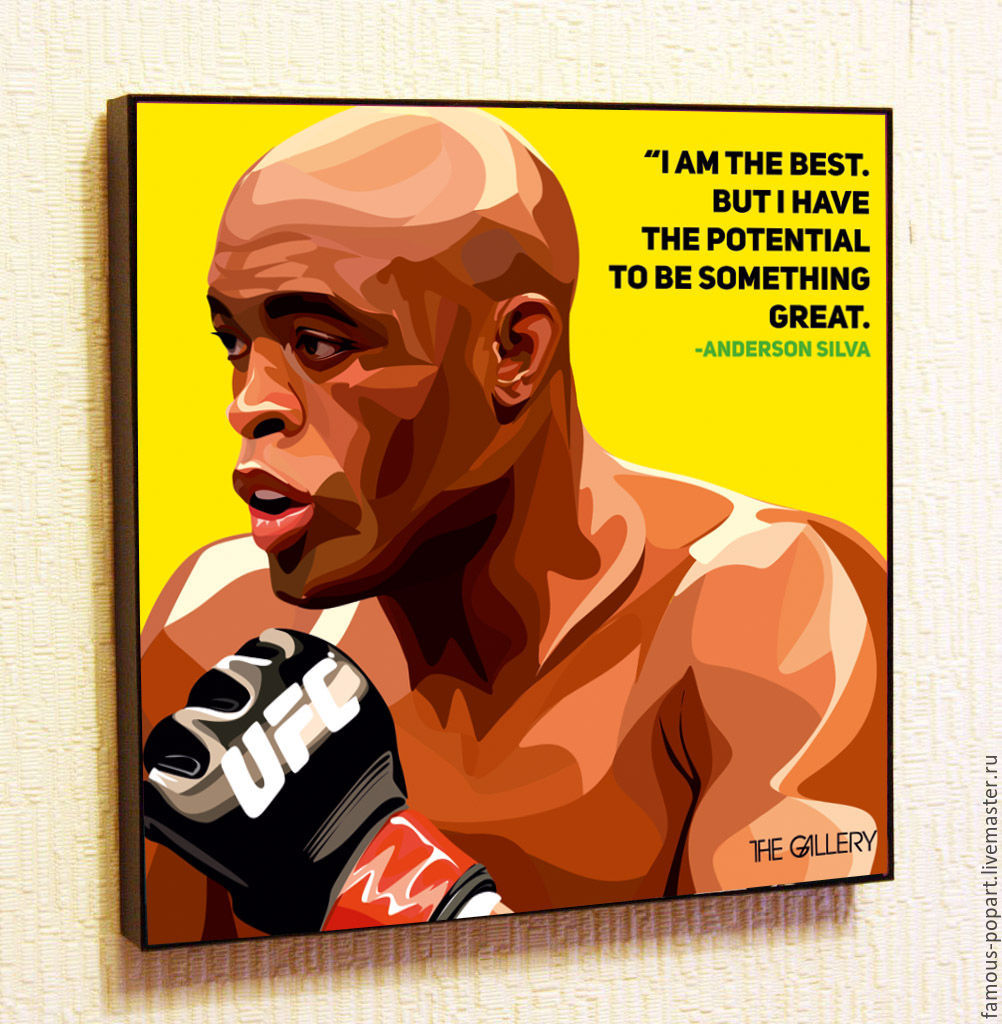 Picture Anderson Silva Pop Art, Fine art photographs, Moscow,  Фото №1