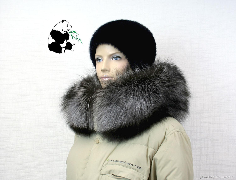Luxury furry. The finish on the hood Fox fur, Collars, Ekaterinburg,  Фото №1