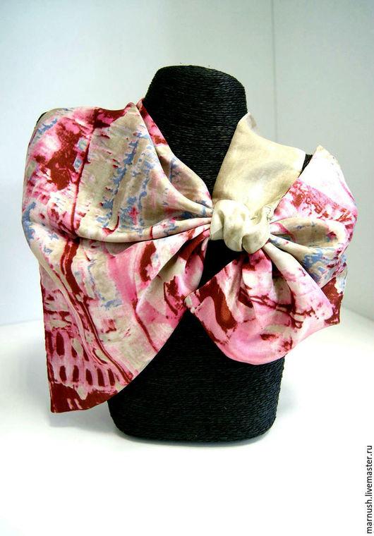 Шарфы и шарфики ручной работы. Ярмарка Мастеров - ручная работа. Купить Шарфик, французская косынка. Handmade. Комбинированный, шейный платок