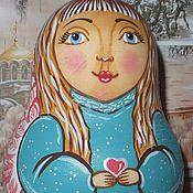 """Русский стиль ручной работы. Ярмарка Мастеров - ручная работа Неваляшка  """"Ангел"""" ручная работа. Handmade."""