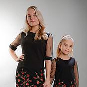Одежда ручной работы. Ярмарка Мастеров - ручная работа Платье с вышивкой 3. Handmade.