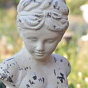 Для дома и интерьера handmade. Livemaster - original item Statuette Bust of a girl on a stand decor Provence. Handmade.