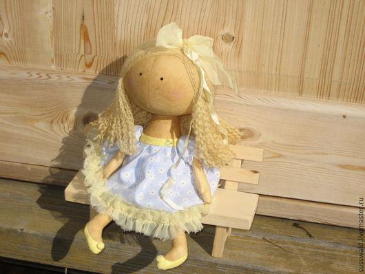 Куклы тыквоголовки ручной работы. Ярмарка Мастеров - ручная работа. Купить Эллисон. Handmade. Текстильная кукла, краски акриловые