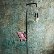 Для дома и интерьера handmade. Livemaster - original item Floor lamp made of water pipes