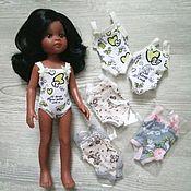 Одежда для кукол ручной работы. Ярмарка Мастеров - ручная работа Одежда для кукол. Нижнее белье. Handmade.