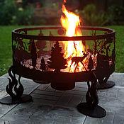 Folk decorations handmade. Livemaster - original item Hearth for a fire
