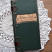 Канцелярские товары handmade. Livemaster - original item Wine list