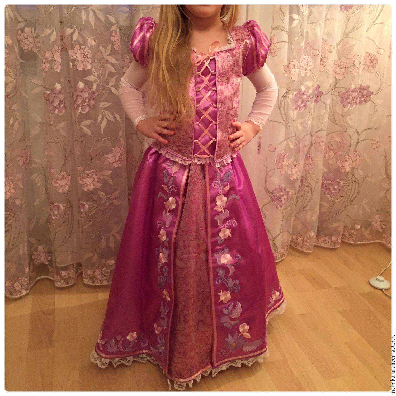 Платье рапунцель для девочки