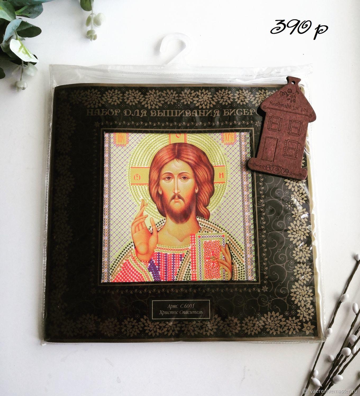 Набор для вышивания Nova Sloboda  Христос Спаситель, Схемы для вышивки, Тула,  Фото №1