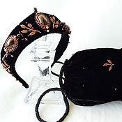 Украшения handmade. Livemaster - original item Hair Band with handbag set Five Stars. Handmade.