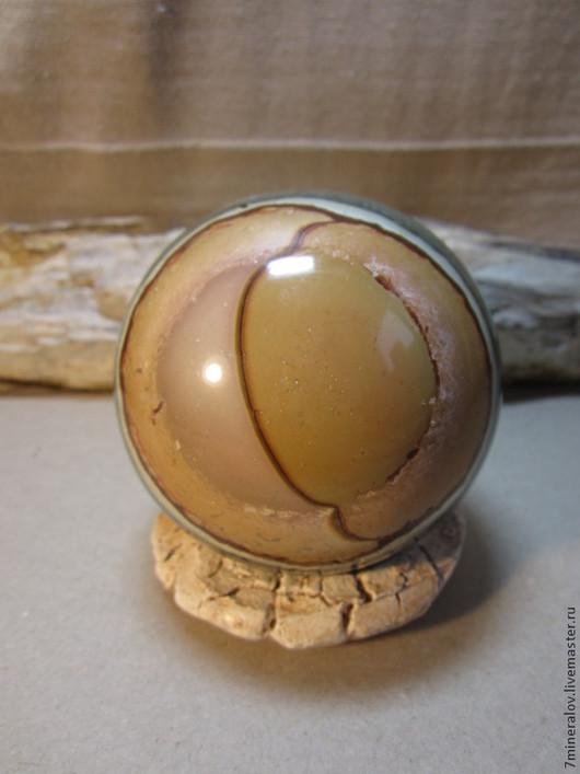 """Статуэтки ручной работы. Ярмарка Мастеров - ручная работа. Купить 80мм. Яшма Шар """"Каменный глаз"""" Природный камень. Handmade."""