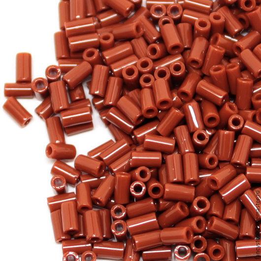Для украшений ручной работы. Ярмарка Мастеров - ручная работа. Купить Бисер ТОХО стеклярус 3мм №46L,  Японский бисер TOHO Bugles 10гр4. Handmade.