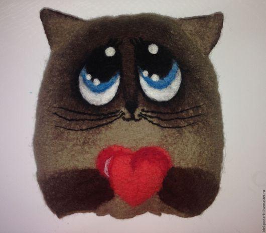 кот котик котенок кот в подарок котэ кот игрушка котики коты и кошки котенок сердце сердечко подарок на 14 февраля подарок на день Валентина подарок на День Влюбленных