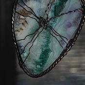 """Украшения ручной работы. Ярмарка Мастеров - ручная работа кулон """"Флюорит..."""". Handmade."""