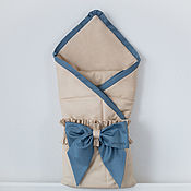 Одежда детская handmade. Livemaster - original item The envelope on an extract for a newborn. Handmade.