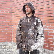 "Одежда ручной работы. Ярмарка Мастеров - ручная работа Толстовка  ""Шаманская"" валяная. Handmade."