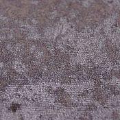 Материалы для творчества ручной работы. Ярмарка Мастеров - ручная работа Плюш винтажный, цвет пыльная роза, 50х50см, 100% полиэстр. Handmade.