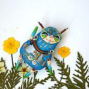 Куклы и игрушки ручной работы. Ярмарка Мастеров - ручная работа Космоброшь.. Handmade.